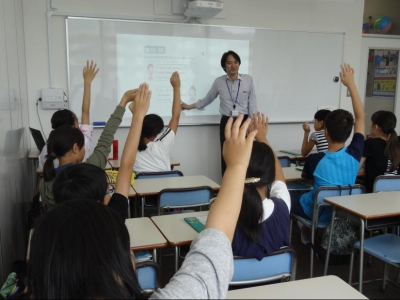 ▲小6:英語の授業