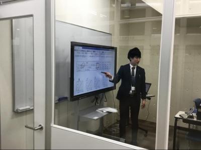 ▲手柄本部校はオンラインスタジオを完備!