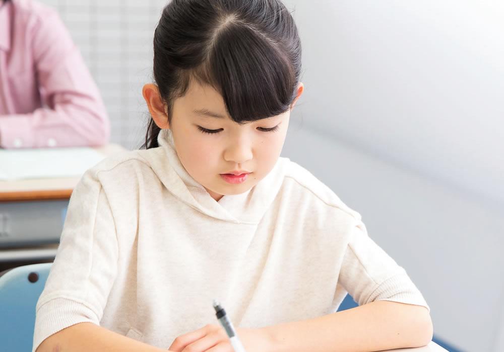 確実な効果測定「ポイント確認テスト」を学期ごとに実施